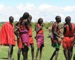 ケニアマサイの戦