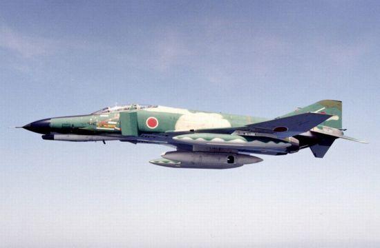 日本自衛隊所属のRF-4EJ偵察機 日本自衛隊所属のRF-4EJ偵察機 日本自衛隊所属のRF-4