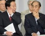 野田首相(左)と輿石氏は、カネをめぐる画策に余念がないのか