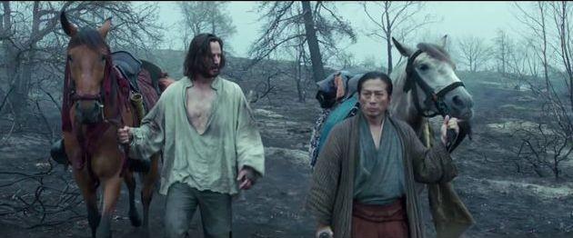 真田広之とキアヌ·リーブスの『47人浪人』
