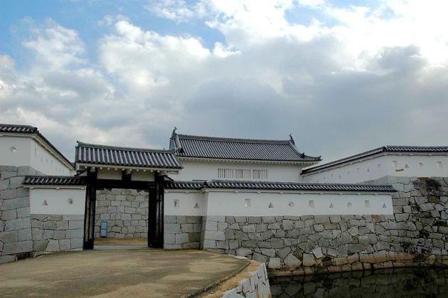 赤穂城本丸門(復元)