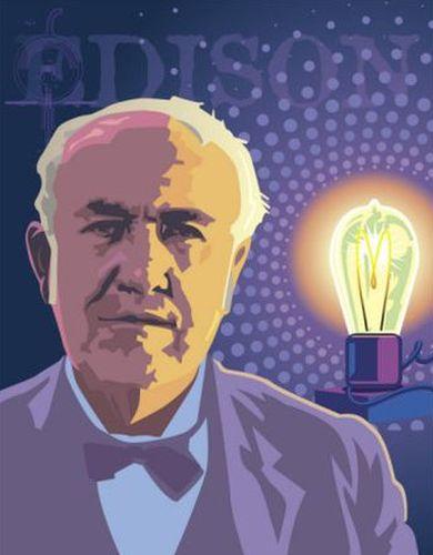 発明王、トーマス・エジソン