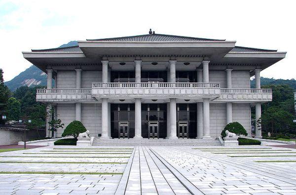 ソウル青瓦台(大統領府)の迎賓施設