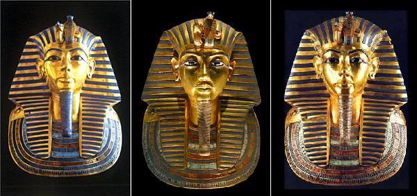ファラオの巨像2体を復元 エジプ...