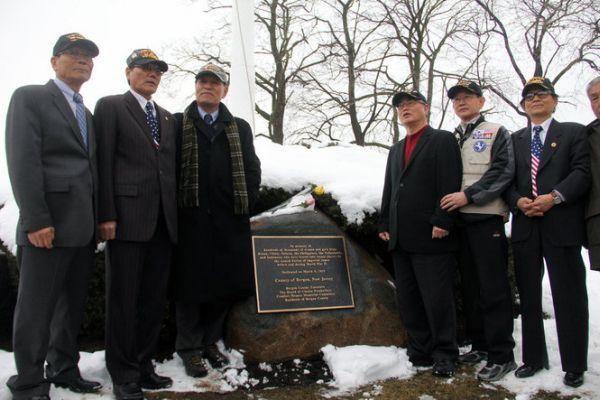 ニュージャージー州ベルゲンの慰安婦追悼