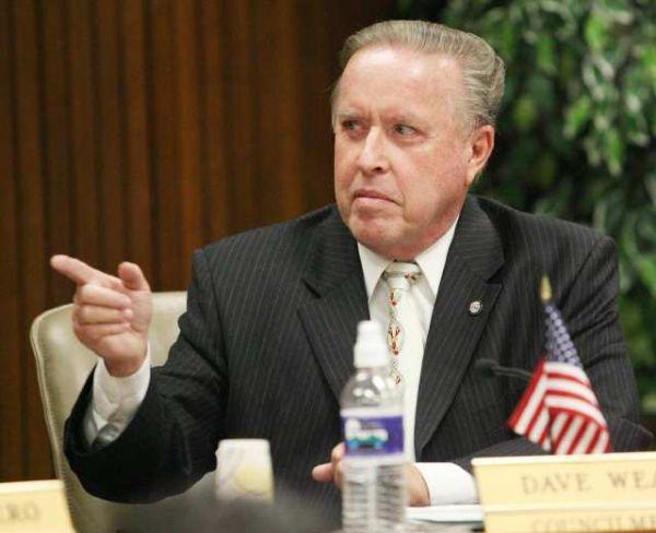 グレンデールの馬鹿市長.....デイブ·ウィーバー