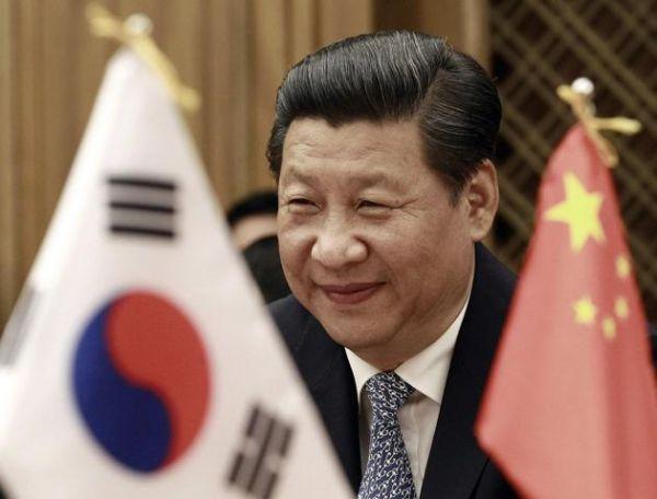 習主席が今月初めにソウルで見せた笑顔ばかり