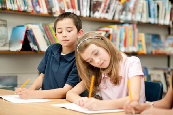 Primary school online homework