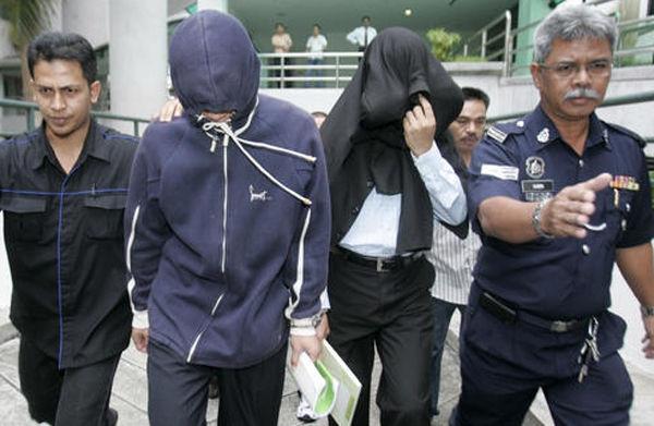 いずれもナジブ首相の部下, マレーシア特殊攻撃部隊の隊員, 彼個人的なのボディーガード....死刑 !