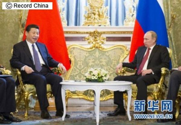 習近平とプーチンの蜜月ぶり