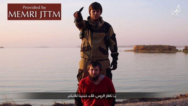ISISがロシア人スパイを殺害したとするビデオを公開した