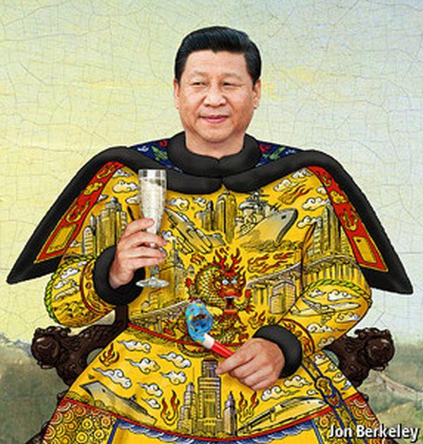 共産中国新しい設立の王朝....習王朝の習近平「皇帝」