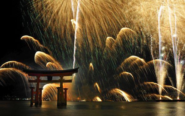 激しい火花を散らしている....(*´◡`*) !