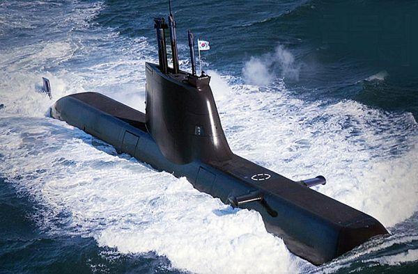 韓国の209型チャン・ボゴ級潜水艦を探知するのは難しい