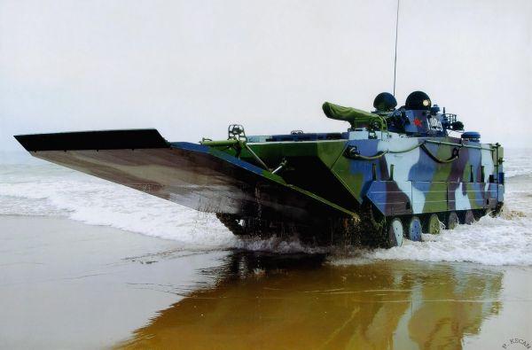 共産中国の水陸両用車