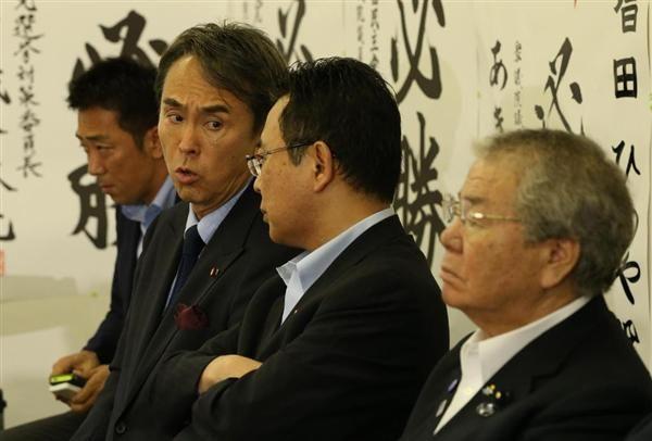 推薦候補の敗北、石原伸晃都連会長 :『党本部マター。お金も党本部が集めた。責任者は谷垣幹事長だ !』