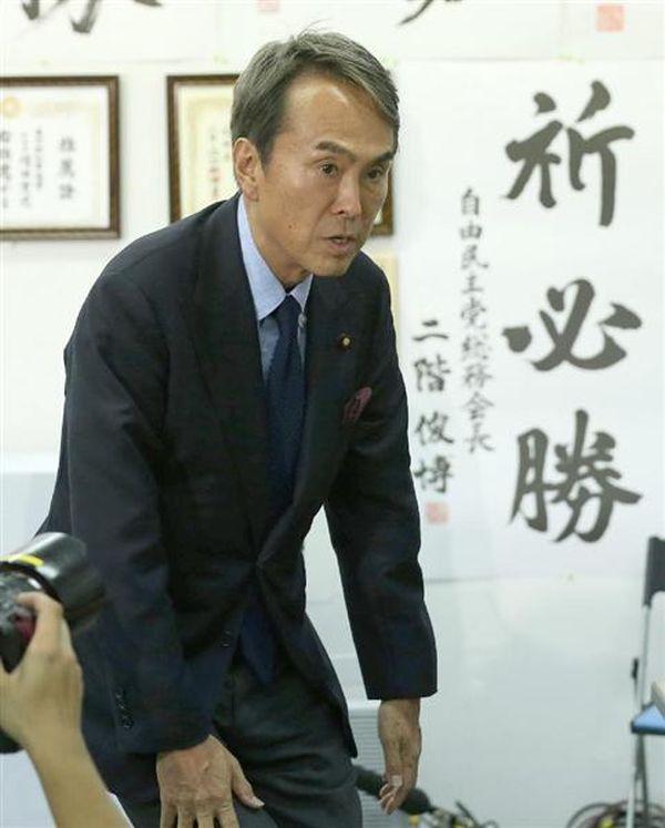 石原伸晃都連会長 :『僕と全然関係がないわ ! 』