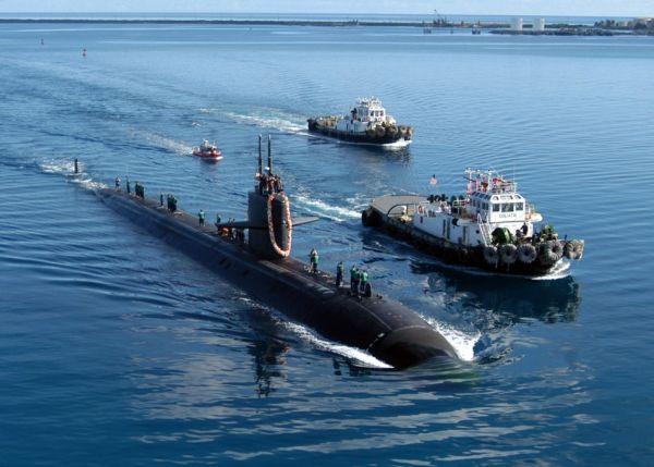 米軍の潜水艦は原子力推進なので、数カ月もの長期間にわたって作戦が可能