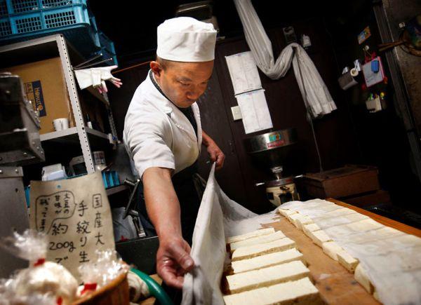 お豆腐屋さん....(^_^)〜♪