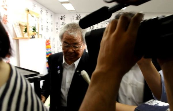 内田茂都連幹事長も不在だった