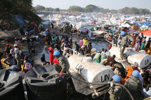 現在の南スーダン ! めちゃくちゃ ! めちゃくちゃ !