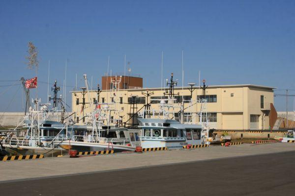 南相馬市の漁港