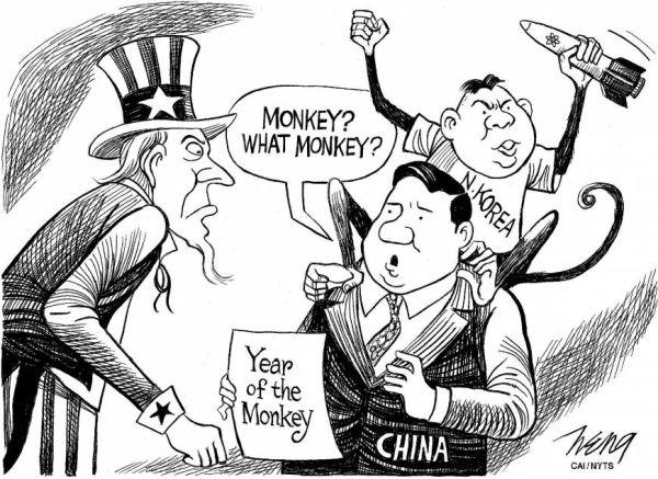 中国は北朝鮮の同盟国