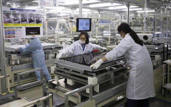 「台湾企業ではなく, 日本企業のシャープ』.....栃木県屋台のシャープ工場