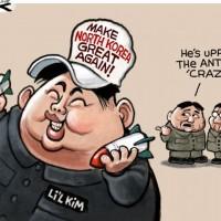 """「韓国社会の北朝鮮的体質化」への道 ♪♪♪ """" Make North Korea Great again ! """"♪♪♪....ワハハハ !"""