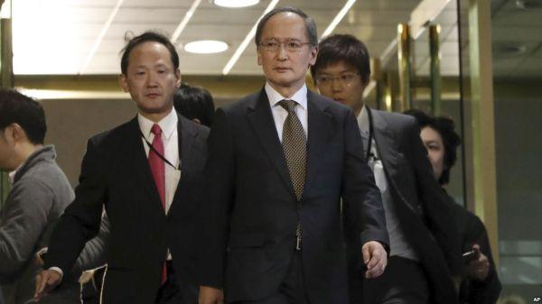 日本の 駐韓大使, 「無期限待機 !」, もう韓国に戻ってこないかも...いいね !