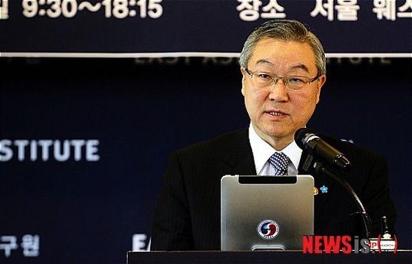 金星煥元外交部長官