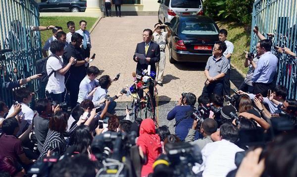 「 馬鹿カン」 :『今回の事案はマレーシアと韓国政府が結託して起こした政治的な画策である...』 ワハハハ !!!