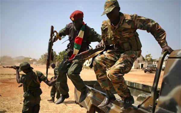 南スーダンの政府軍