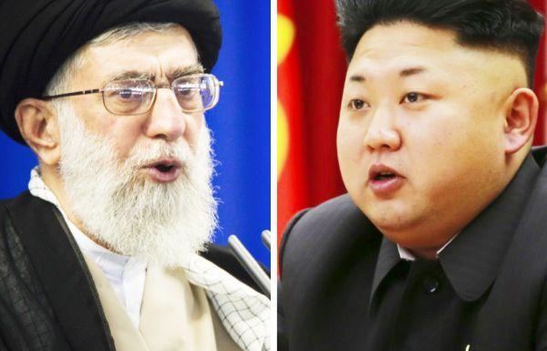 イランと北朝鮮....世界平和の邪魔者