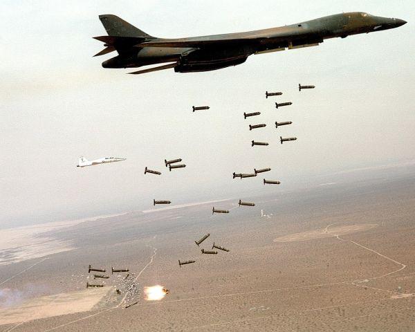 B 1 B爆撃機による「限定空爆」