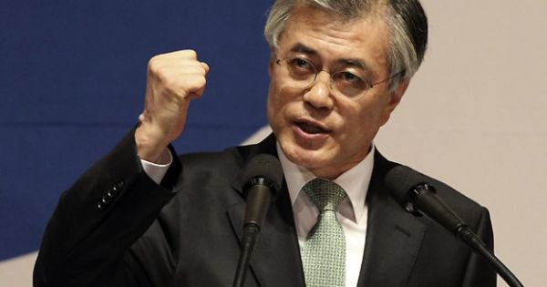 韓国市民たちもう内定したの「次期大統領」文在寅, 朝から明け方までも「反日」 ! Wow !