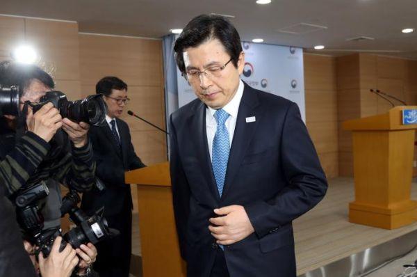 黄教安(ファン・ギョアン)首相