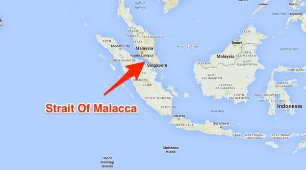 マレーシアのマラッカ海峡, ここで水葬したら, 遺体を引き渡すのことも… アララ ! ごめん !ごめん !ありえないわ !(*´◡`*) !