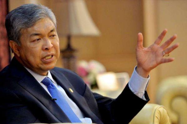 マレーシアのザヒド副首相兼内相