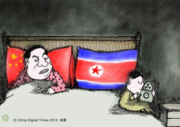 中国と北朝鮮従来の関係 = 同床異夢 !