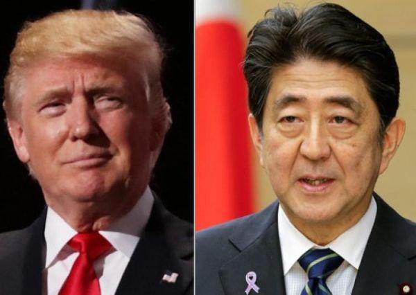 安倍晋三首相, トランプ米大統領との電話首脳会談