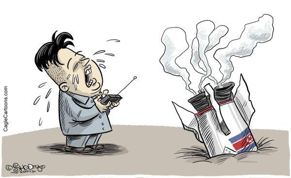 「♪♪♪ 朝鮮人民軍は正義の核の霊剣で侵略者の核戦争騒動を無慈悲に粉砕する ! ♪♪♪」, マジ !....ワハハハ !