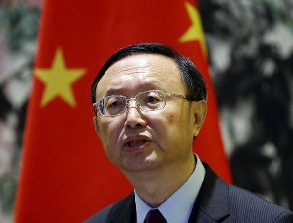 中国の楊潔チ国務委員
