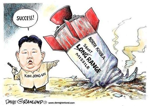 「大陸間弾道ミサイル(ICBM) の可能性は低いとみられる」