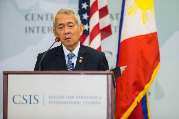 フィリピン共和国外務大臣ヤサイ・ジュニア,「CSIS」での演説