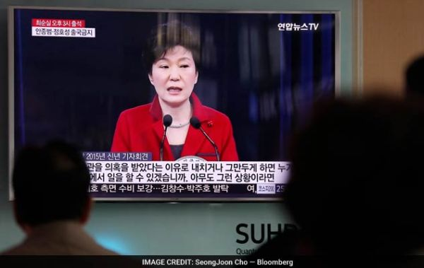 朴槿恵大統領の職務停止