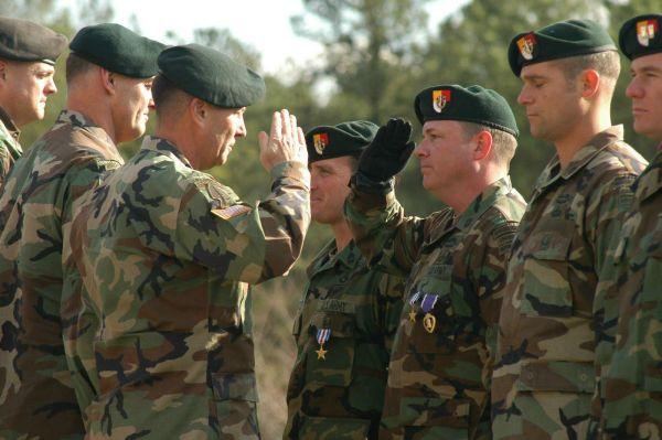 米陸軍の特殊部隊「グリーンベレー」
