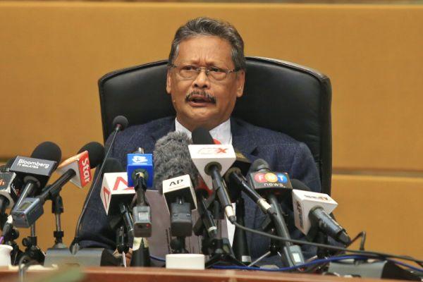 マレーシアの司法長官....アポンディ・アリ