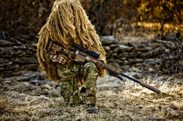 特殊部隊「グリーンベレー」狙撃兵
