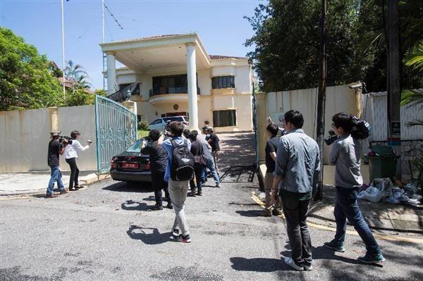 「北朝鮮工作員の巣」! クアラルンプールにある北朝鮮大使館, 犯行グループの本拠地.....